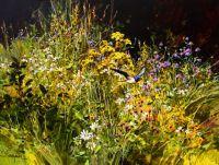 Swallow & Wild Flowers