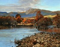 Ben Vrackie and the Tay